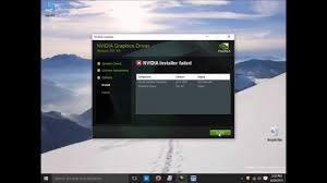 NVIDIA Installer kann die Installation nicht fortsetzen